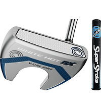 White Hot RX Mallet Putter with SuperStroke